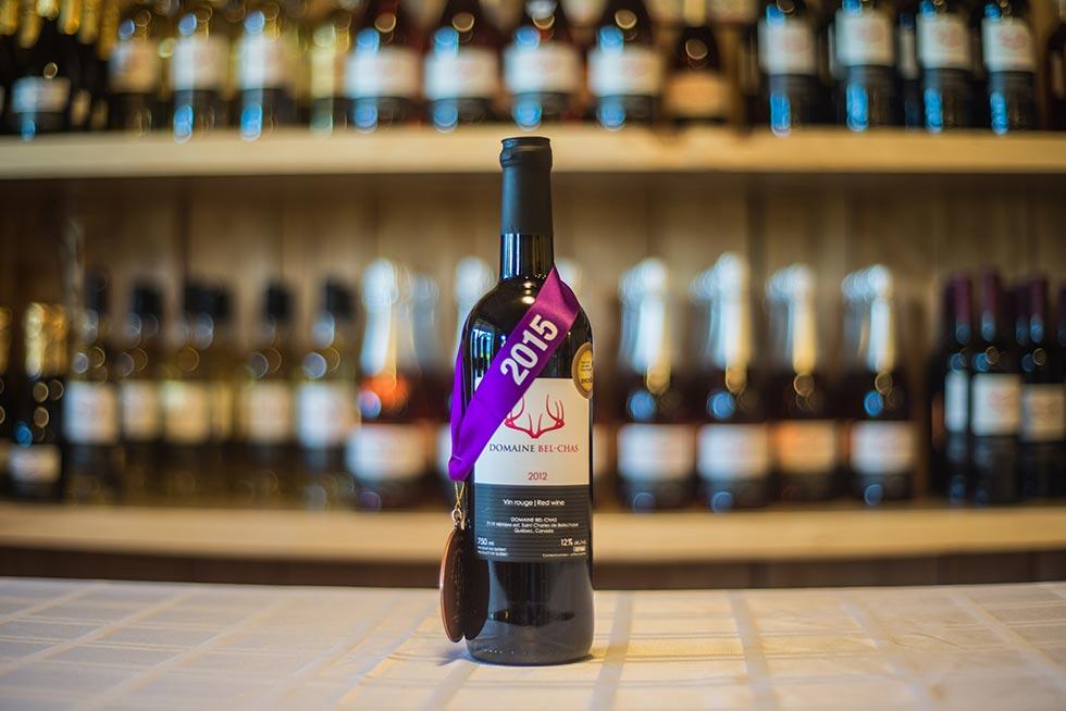 Notre s lection de vins domaine bel chas - Conservation vin rouge ...